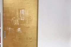 porta vetro oro portarredo