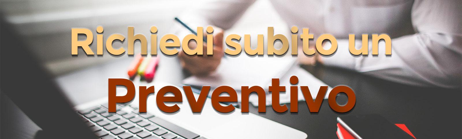 Richiedi preventivo online